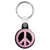 CND Logo - Love and Peace Hippy Symbol Key Ring