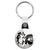 Cheech & Chong - Black & White - Key Ring