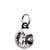 Cheech & Chong - Black & White - Mini Keyring