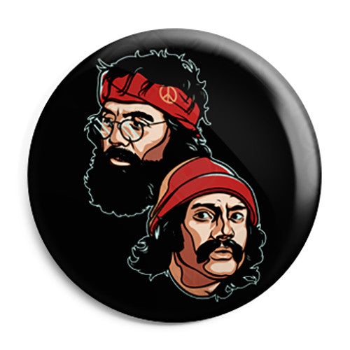 Cheech & Chong - Friends - Button Badge