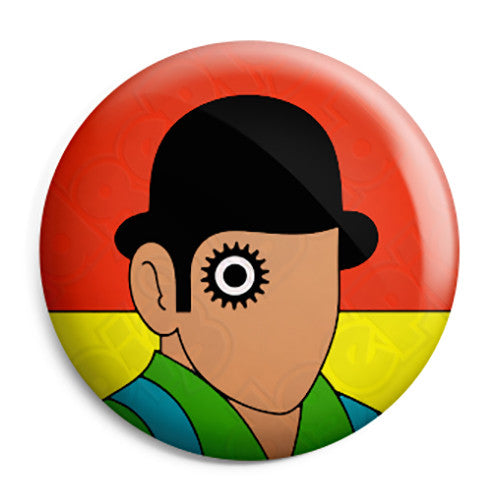 Clockwork Orange - Droog Anthony Burgess Book Cover Pin Button Badge