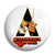 Clockwork Orange - Stanley Kubrick Film Logo Pin Button Badge