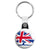 Conservative Union Jack Logo - Political Election Key Ring