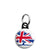 Conservative Union Jack Logo - Political Election Mini Keyring