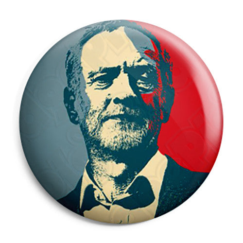 Jeremy Corbyn - Obama Hope - Labour Leader Button Badge