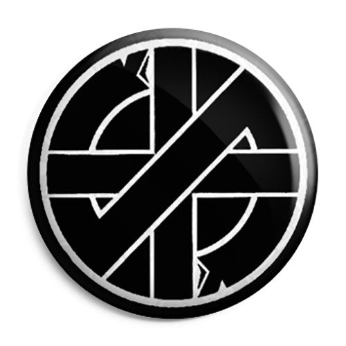 Crass - Symbol Logo - Button Badge