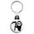 Cute Death Reaper Skull - Horror Halloween Key Ring