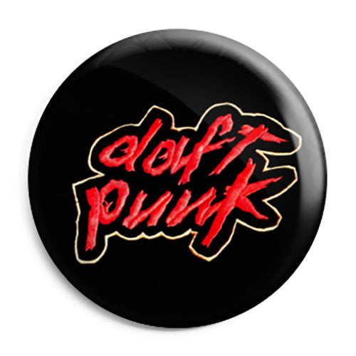 Daft Punk - Homework Album - Techno House Button Badge