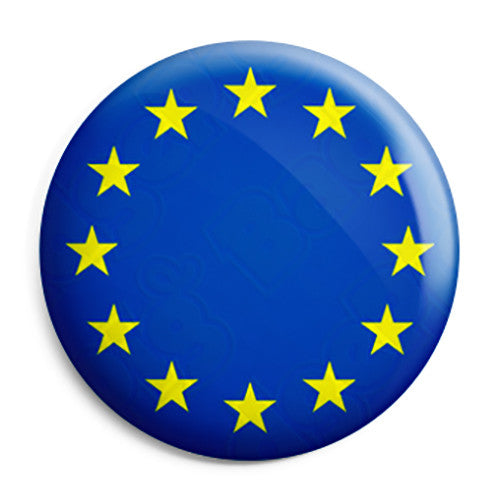 Europe Countries EU European Flag Pin Button Badge