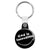 God is Incredible - Smiley Religious Key Ring