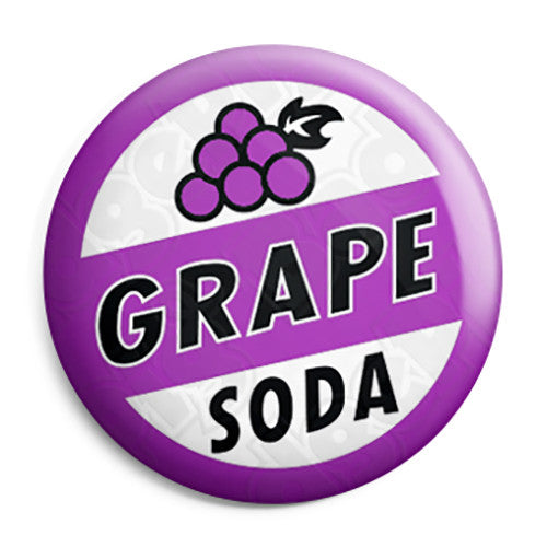 Grape Soda - Up Pixar Film - Pin Button Badge