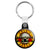 Guns N Roses - Bullet Band Logo 80's Heavy Rock Key Ring