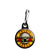 Guns N Roses - Bullet Band Logo 80's Heavy Rock Zipper Puller