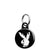 Playboy Zombie Bunny - Horror Halloween Mini Keyring