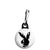 Playboy Zombie Bunny - Horror Halloween Zipper Puller