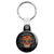 Halloween Mexican Sugar Skull - Trick or Treat Key Ring