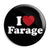 I Love Nigel Farage - UKIP Political Button Badge