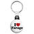 I Love Nigel Farage - UKIP Political Button Badge Key Ring