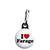 I Love Nigel Farage - UKIP Political Button Badge Zipper Puller