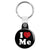 I Love Me - Romantic Valentine Heart Key Ring