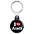 I Love My Audi - Key Ring
