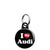 I Love My Audi - Mini Keyring