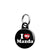 I Love (Heart) My Mazda - Car Mini Keyring