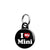 I Love My Mini - Car Mini Keyring
