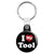 I Love (Heart) My Tool - Rude Key Ring