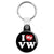 I Love My VW - Key Ring