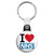 I Love The NHS - National Health Service Union Key Ring