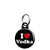 I Love Vodka - Alcohol Mini Keyring