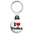 I Love Vodka - Alcohol Key Ring