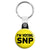 I'm Voting SNP - Scottish Political Election Key Ring