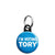 I'm Voting Tory, Conservative Political Election Mini Keyring