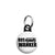 The Inbetweeners - Bus Wanker Logo - Mini Keyring
