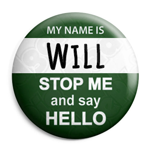 The Inbetweeners - My Name is Will - Button Badge