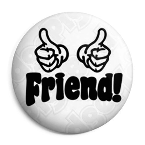 The Inbetweeners - Thumbs Up Friend - Button Badge