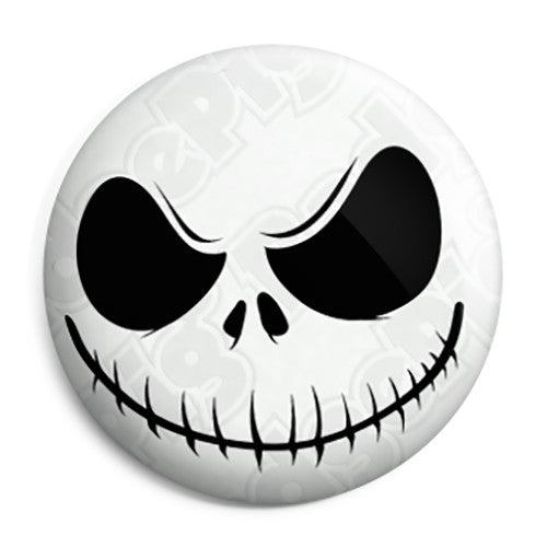Jack Skellington Nightmare Before Christmas - Button Badge
