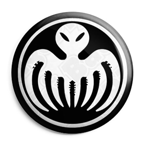 James Bond 007 - Spectre Evil Villains Logo Button Badge