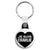 Je Suis Charlie Heart - Freedom Protest Key Ring