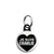 Je Suis Charlie Heart - Freedom Protest Mini Keyring