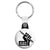 Je Suis Charlie Fist & Pencil - Protest Key Ring