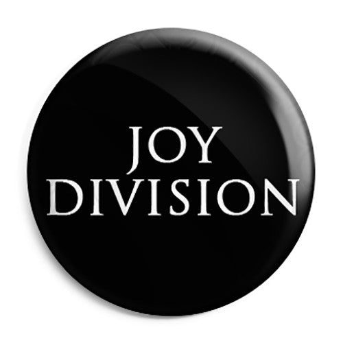 Joy Division - Closer Font Logo - Button Badge