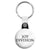 Joy Division - Closer Font Logo - Key Ring