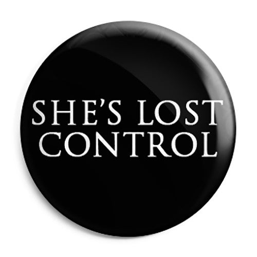 Joy Division - She's Lost Control - Button Badge