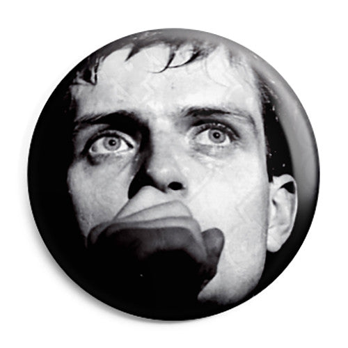 Joy Division - Ian Curtis Closeup Photo - Post Punk Button Badge