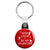 Keep Calm & Be My Valentine Key Ring