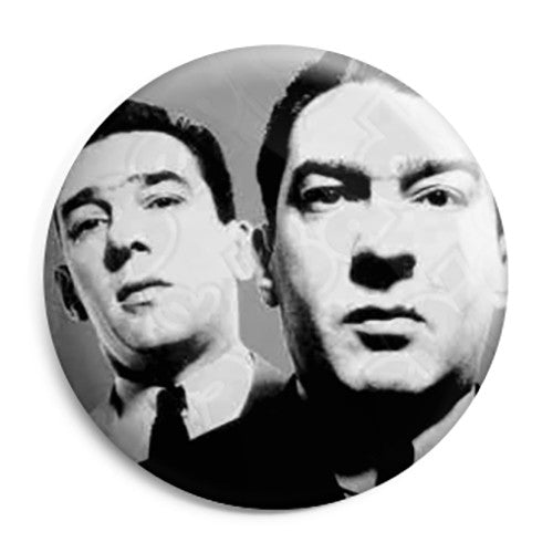 Ronnie and Reggie - Kray Twins Gang Crime Pin Button Badge