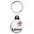 Old Labour Party Logo - Political Election Key Ring